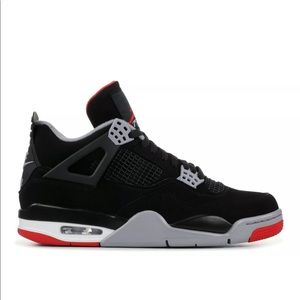 Nike Air Jordan IV Retro (GS) OG Bred 2019 SZ 6Y